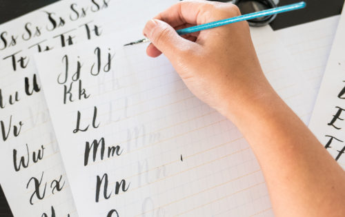 May Brush Lettering Workshop