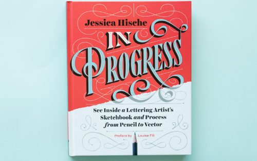 "Reading: ""In Progress"" by Jessica Hische"