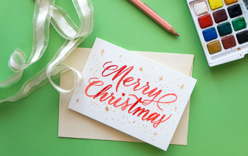 Tips for lettering cards