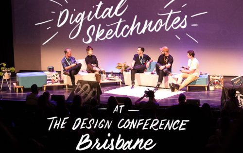 Digital Sketchnotes at The Design Conference