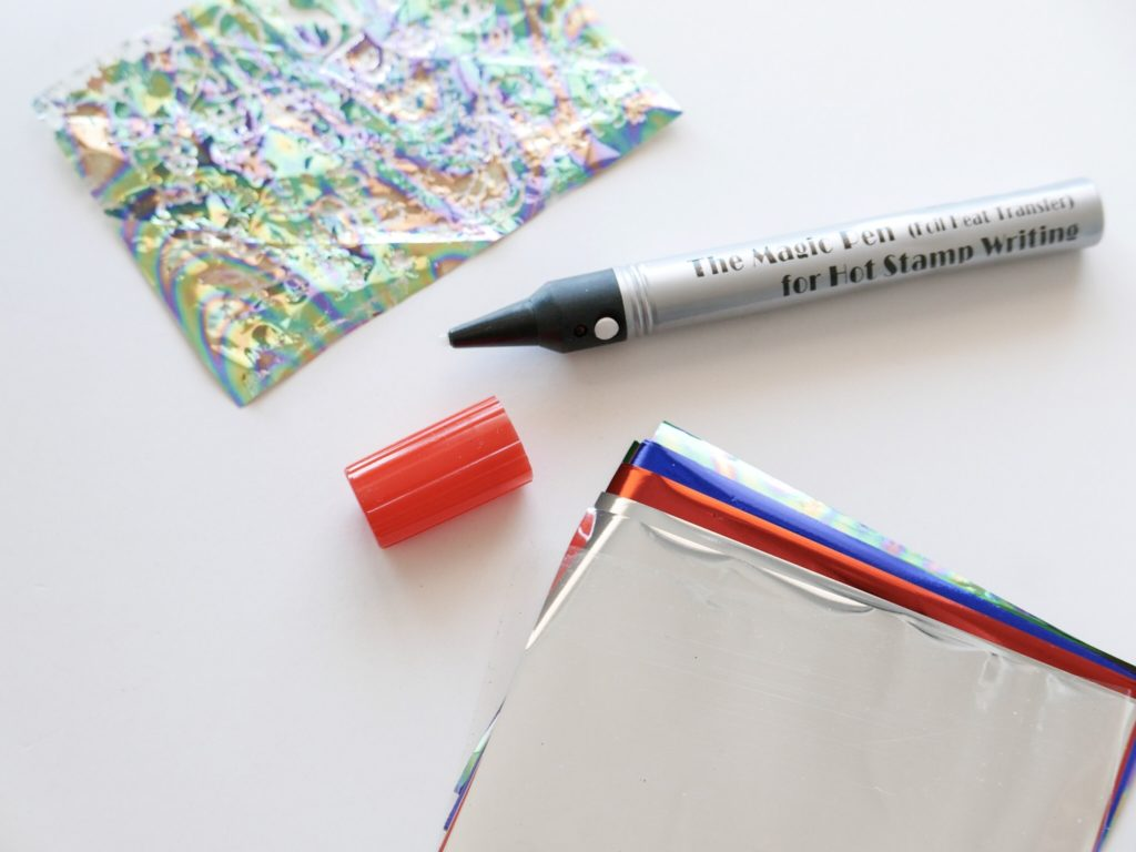... The magic hot stamping pen