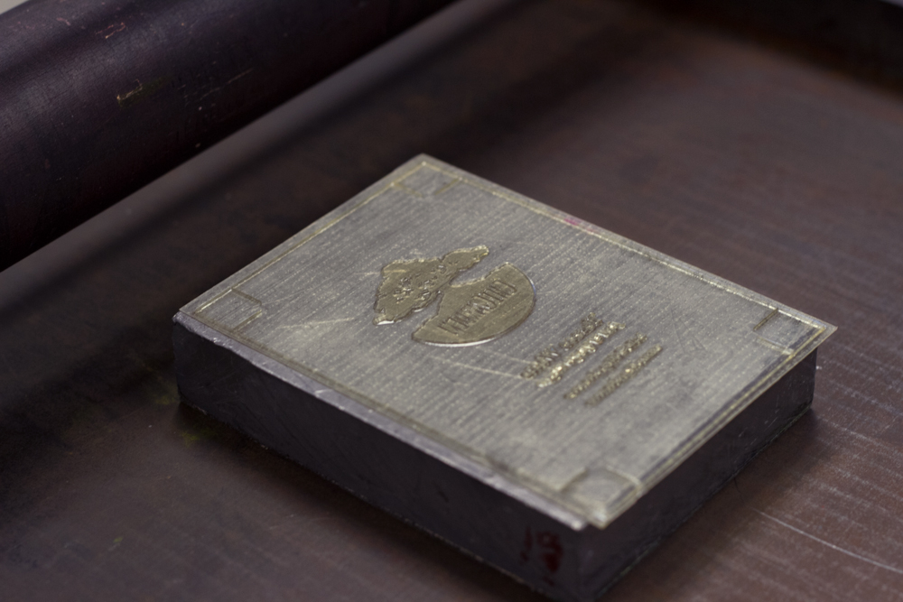 Printing with a photopolymer plate