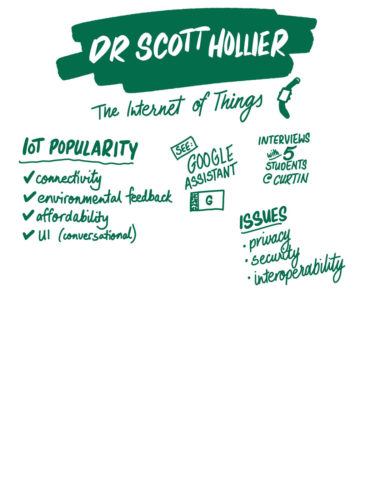 Dr Scott Hollier on the Internet of Things