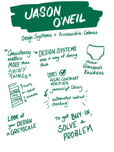 Jason O'Neil on design systems and accessible colours