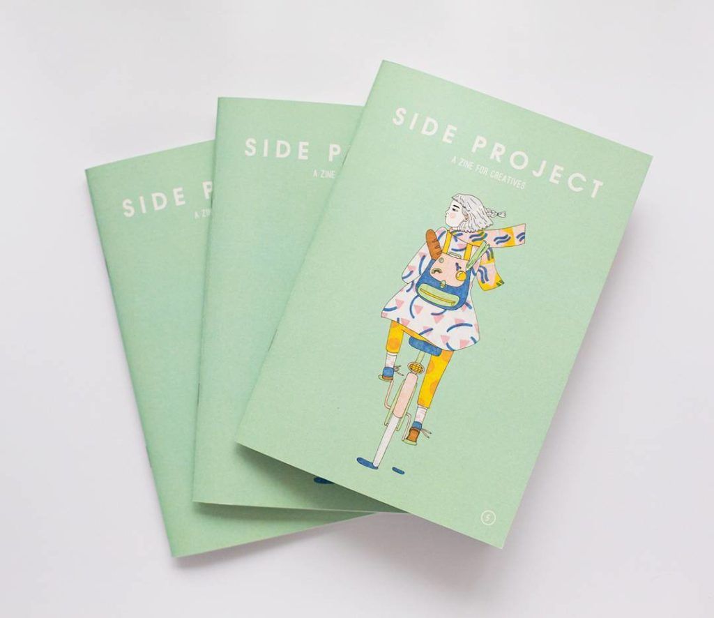 Phot of Side Project magazine issue 5